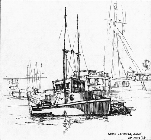 Fishing Boats Drawings Fishing Boats Drawings Moss